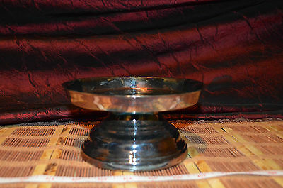 "Oneida Silver-Plated Footed Pedestal 6 5/8"" Dish Holder"