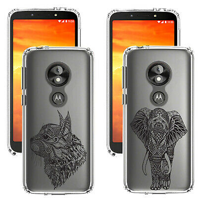 For Motorola Moto E5 Play (Go) UK Printed Animal Design Gel Case Cover Silicone