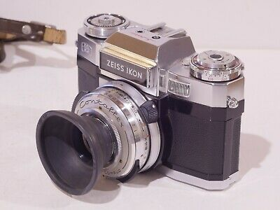 Zeiss Contaflex Super B 35Mm Slr With F2.8/50 Tessar In Synchro-Compur + Case