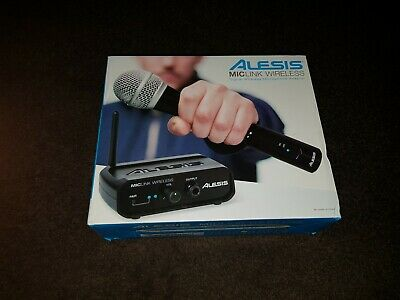 Alesis MicLink Wireless Microphone Plug In Handheld Adaptor Radio System