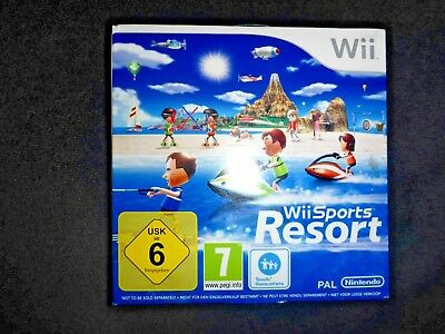 Nintendo Wii Spiel Wii Sports Resort Game