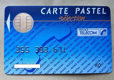 telecarte carte pastel selection france telecom
