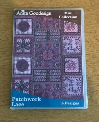 Anita Goodesign Mini Collection - PATCHWORK LACE