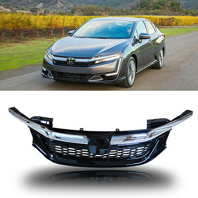 For 2016 2017 Honda Accord Front Bumper Grill Grille Chrome Sport Honeycomb Mesh