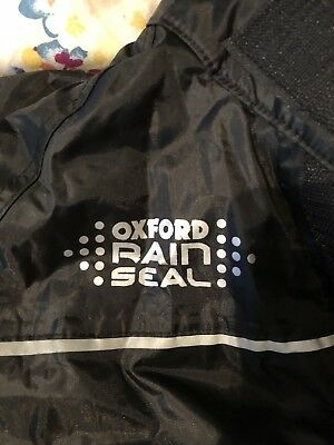 Oxford Rainseal Oversuit Motorcycle Water Resistant 1 Piece Suit New - SMALL