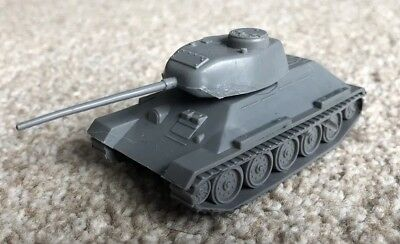 Airfix Soviet T34 Tank In Grey HO/OO Scale Vehicles 09781/9 Excellent