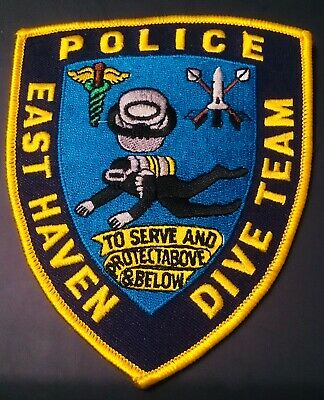 CONNECTICUT- CT EAST Haven Scuba Team Dive Team Diver Police Patch