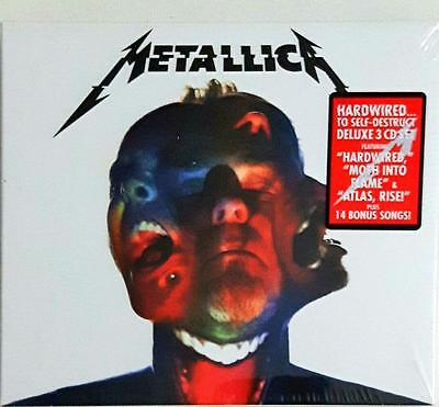 METALLICA - Hardwired To Self-Destruct (Deluxe Edition) 3 Disc set Cd  Sealed