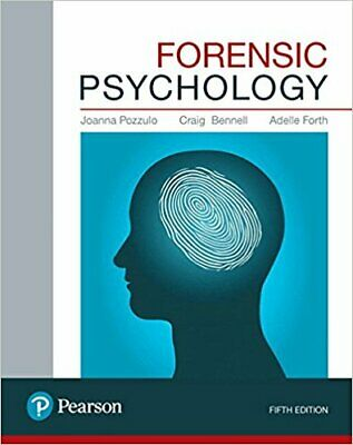Forensic Psychology 5th Edition by J.Pozzulo, C.Bennell, A.Forth [EB00K]