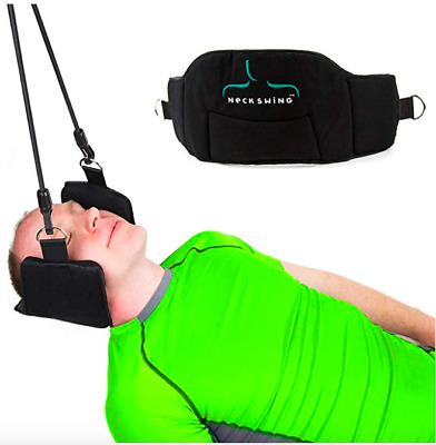 New Hammock Cervical Traction Device for Neck Pain Relief Bonus Free Eye mask