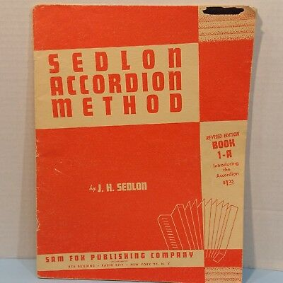 Vintage Sedlon According Method Book 1A Revised Tab Course Groups or Individual