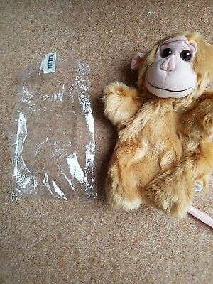 Monkey Hand Puppet New in original packaging