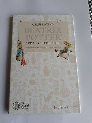 2018 Beatrix Potter Royal Mint 50p Coin Collection Album New (No Coins)