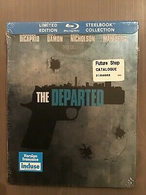 The Departed Future Shop Exclusive Steelbook Blu-Ray New And Sealed Oop Htf