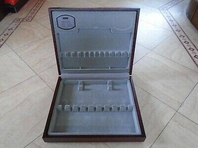 Vintage Viners  Mahogany Effect  Wood Canteen  Of Cutlery Box  Storage Box