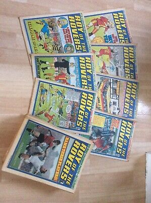 roy of the rovers comics complete year 1977
