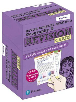Revise Edexcel GCSE 9-1 Geography B Revision Cards & free online Revision Guide