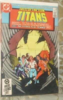 TALES OF THE TEEN TITANS Issue 53 May 1985 DC Comics Nightwing Flash