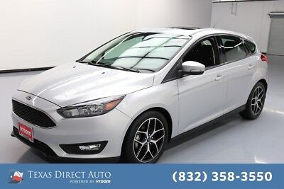 2017 Ford Focus SEL Texas Direct Auto 2017 SEL Used 2L I4 16V Automatic FWD Hatchback