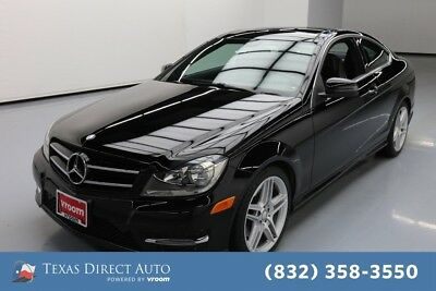 2014 Mercedes-Benz C-Class C 350 Texas Direct Auto 2014 C 350 Used 3.5L V6 24V Automatic AWD Coupe Premium