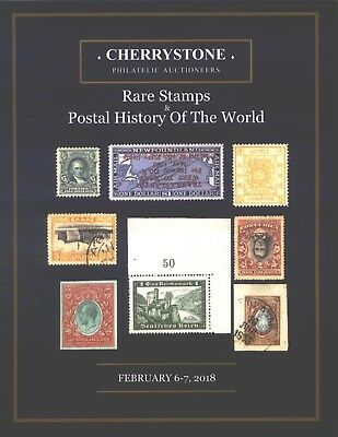 RARE STAMPS POSTAL HISTORY Feb 2018 Russia Poland Ita Cherrystone Auction  186 Pg
