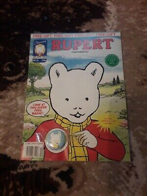 Rupert And Friends fortnightly 30th Oct 1992 no 13 comic