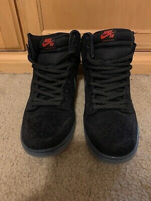reputable site 09009 f2cde NIKE DUNK HIGH Premium SB Flash 11 Black Black Clear 11 806333-001 Worn  Once -  51.00   PicClick