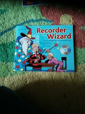 Recorder Wizard By Emma Coulthard With Cd. Hardly Used