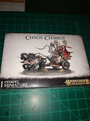 Warhammer Age of Sigmar Slaves to Darkness Chaos Chariot Gorebeast New