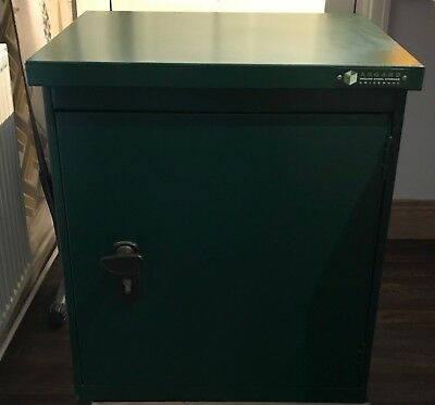 ASGARD SMALL INDOOR SECURE STEEL STORAGE UNIVERSAL LOCKABLE UNIT Container