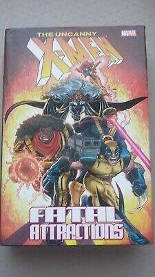 The Uncanny X-Men: Fatal Attractions, Hardcover, Marvel