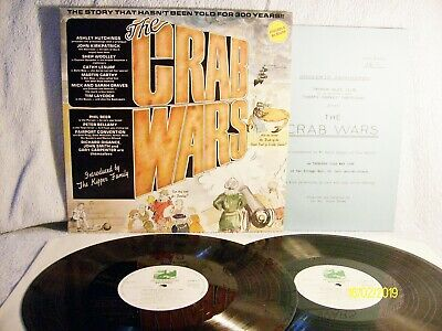 """The Kipper Family """" The Crab Wars """" 1986  With Programme Dambuster  Dam 017 - Ex"""