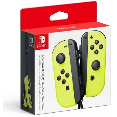 (Neon Yellow) - Nintendo Neon Yellow Joy-Con (L/R) (Nintendo Switch)