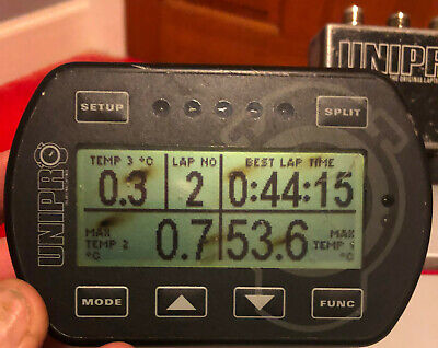 Unipro 7003 Kart Lap Timer With Lap Pick Up and Conector Cable
