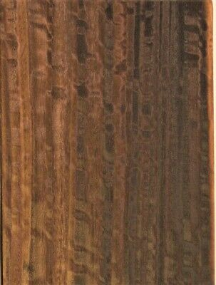 Fumed Eucalyptus Raw Wood Unbacked Veneer  37 x 7 inches          6925-48
