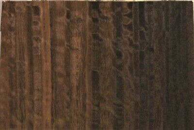 Fumed Eucalyptus Raw Wood Unbacked Veneer  32 x 7.5 inches          6925-49