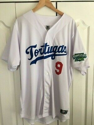super popular faf8a 874fb DAYTONA TORTUGAS NARCISO Crook Game Worn & Autographed Jackie Robinson  Jersey