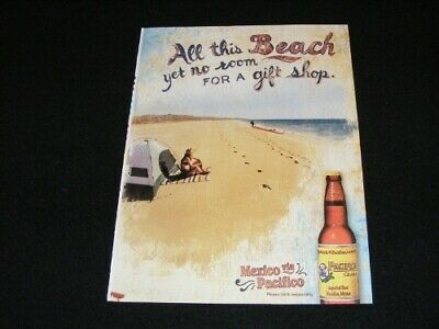 PACIFICO magazine clipping Beer ad from 2006 Mexico via Pacifico