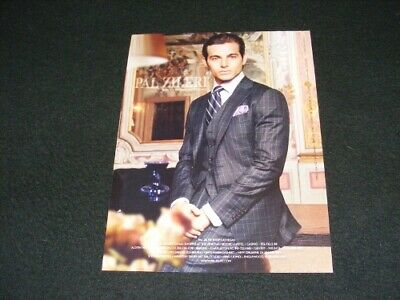 PAL ZILERI magazine clipping Menswear ad from 2008