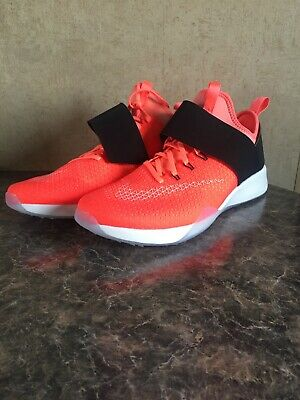 the latest ab7b9 7808d Women Nike Air Zoom Strong Bright Mango Black Summit White 843975 800 Size  10