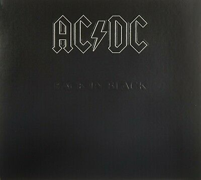 """Ac/dc """"back In Black"""" Cd Special Digipack Edition New"""