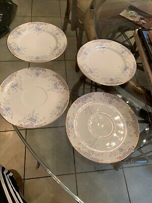 4 Pc Imperial China SEVILLE 5303 by W. Dalton 2-Bread & Butter Plate(s) 2-coffee