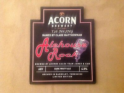 Acorn Alehouse Rock Beer Pump Clip Elvis Jailhouse Rock Music Theme