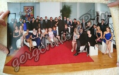 All My Children Game & Final Cast Photo  Picture Susan Lucci David Canary