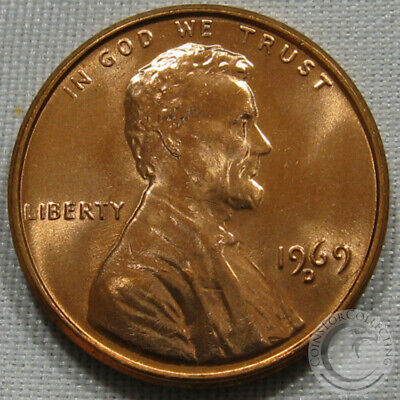 1969-D Unc Lincoln Memorial Penny Nice Coin **Make An Offer**