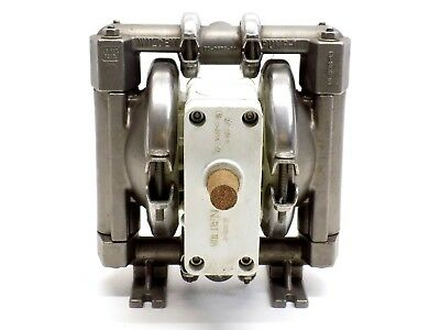 """Wilden Stainless Steel 1/2"""" NPT Small Double Diaphragm Industrial Pump New!"""