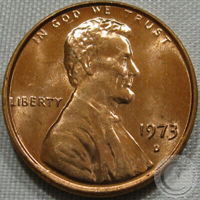 1973-D Unc Lincoln Memorial Penny Nice Coin **Make An Offer**
