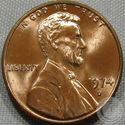 1974-D Unc Lincoln Memorial Penny Nice Coin **Make An Offer**