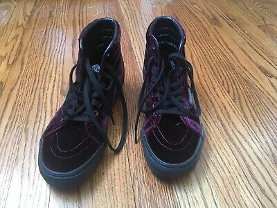 fa3778baac54d0 VANS SK8 HI Reissue Velvet Violet Purple Black Gum Sole Shoes VN0A2XSBF17 -   39.00