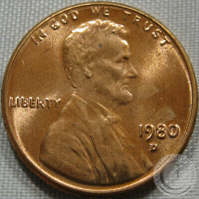 1980-D Unc Lincoln Memorial Penny Nice Coin **Make An Offer**